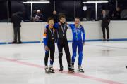 Hylke de Boer brons op de 1000m men junior D